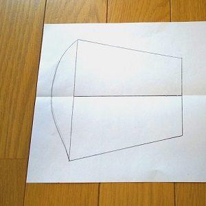 キャシー中島 手作り マスク 型紙