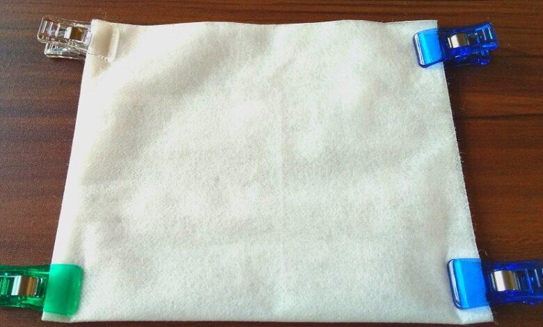 100円ショップ 百均 不織布 手作り 自作 マスク 作り方