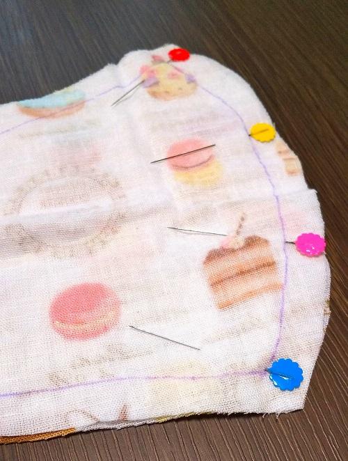 女性セブン 女性自身 手作り マスク 型紙 動画 作り方