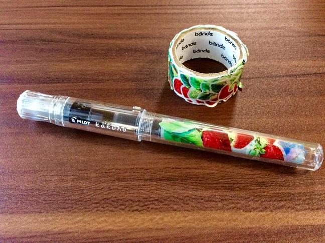 デコカクノ 作り方 万年筆