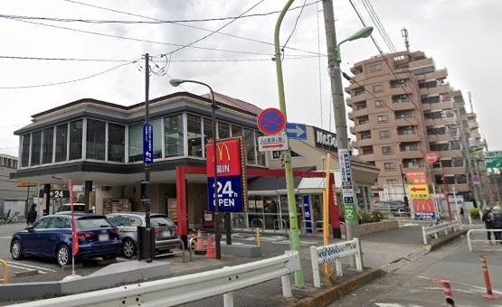 用賀 瀬田 環八 アメリカ村 マクドナルド