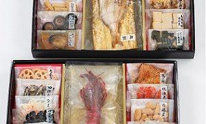 TBSタカトシのお試しかっ伊勢丹おすすめカモ井の常温保存おせち料理
