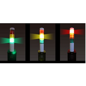 密 LEDライト 二酸化炭素濃度計